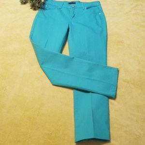 Bandolino Samantha AquaMarine Jeans, Size 6